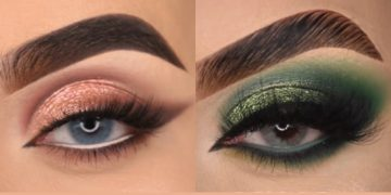 16 Gorgeous Eye Makeup Tutorials & ideas For Your Eye Shape : Elsie Mike