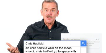 Astronaut Chris Hadfield Answers the Web's Most Searched Questions | WIRED 9