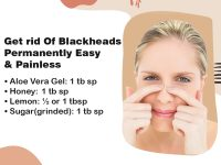 Blackheads removal can be done at home painlessly. 7