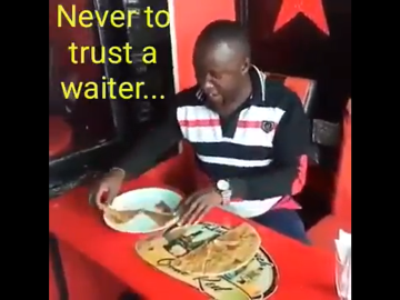 Waiters can be,.... deceitful. 2